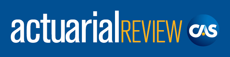 Actuarial Review Magazine Banner